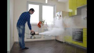 озонирование, сухой туман, деодорация
