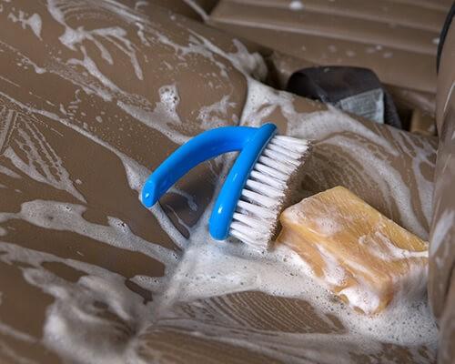 хозяйственное мыло для очистки дивана лайфхак от клининговой компании