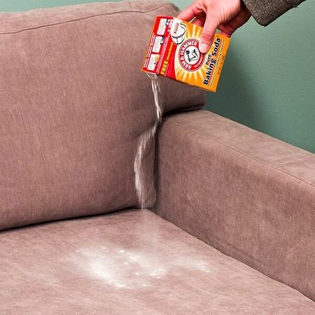 сода для очистки дивана лайфхак от клининговой компании