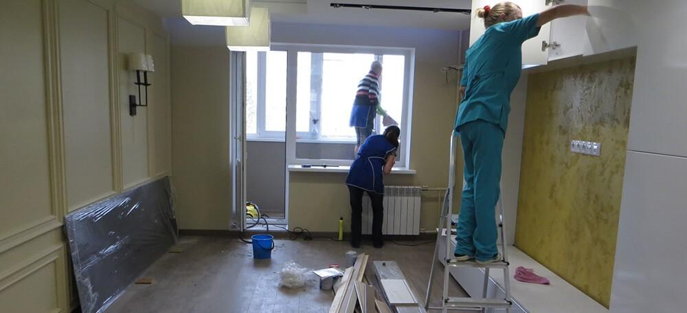 эффективная уборка квартиры