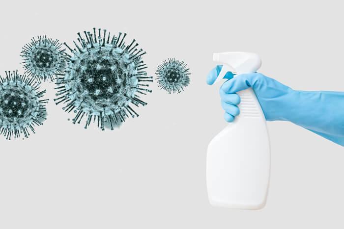 дезинфекция квартиры от микробов и вирусов